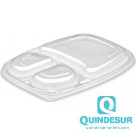 TAPA OPS ANTI-VAHO TRANSP Cookipack 3 Compartimentos (16 Pack/20 Uds)