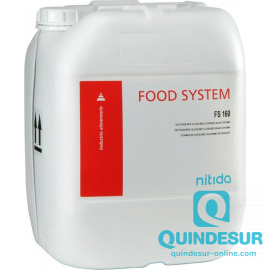 FOOD SYSTEM FS 160 Detergente alcalino clorado baja espuma C.I.P. (1X24 Kg)