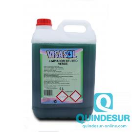 QMP PQ Limpiasuelos Verde Pino (3X5 Lt)