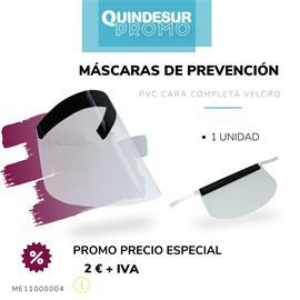 MASCARAS PREVENCION PVC CARA COMPLETA (1 UDS)