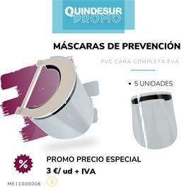 MASCARAS PREVENCION PVC GOMA EVA (1 UD) TIPO B