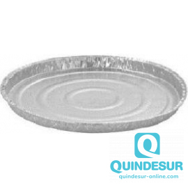 PLATO ALUMINIO Ø 240 H25 mm END (5 Pack/120 Uds)