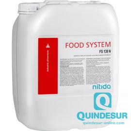 FOOD SYSTEM FS 130 N Desinfect. Detergente alcalin o clorado espum. R. Biocida (1x22 Kg)